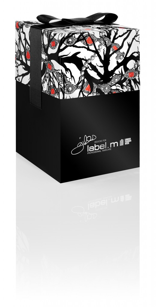 GILES Xmas Scarf Gift Box 1