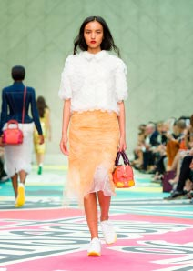 Burberry Prorsum Womenswear Spring Summer 2015 Collection - Look 5